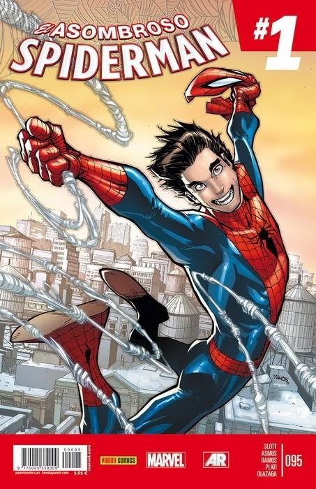 Couverture de Asombroso Spiderman -95- La Suerte Parker