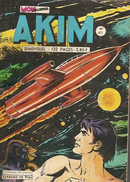 Couverture de Akim (1re série) -477- L'homme venu de l'espace