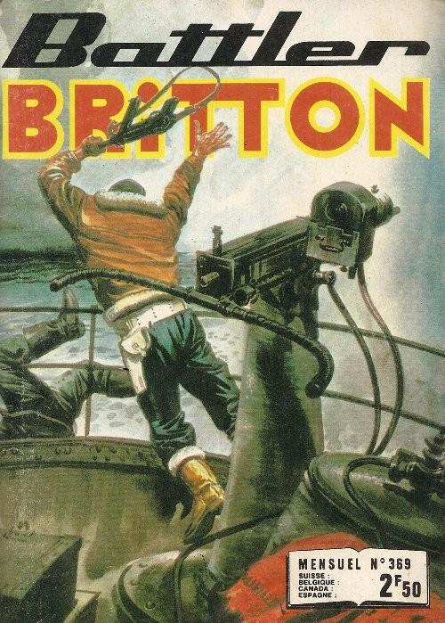 Couverture de Battler Britton (Imperia) -369- Le cratère fantome