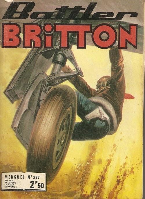 Couverture de Battler Britton -377- Cible mouvante