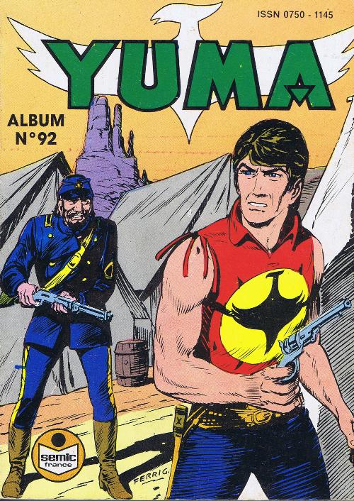 Couverture de Yuma (1re série) -Rec092- Album N°92 (du n°327 au n°329)