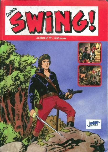 Couverture de Capt'ain Swing! (2e série - Mon Journal) -Rec57- Album N°57 (du n°171 au n°173)