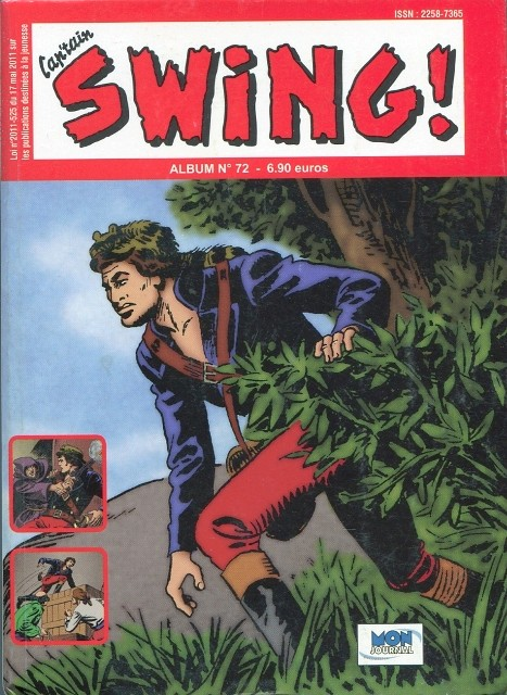 Couverture de Capt'ain Swing! (2e série - Mon Journal) -Rec72- Album N°72 (du n°216 au n°218)