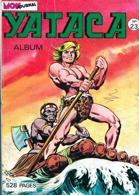 Couverture de Yataca (Fils-du-Soleil) -Rec23- Album N°23 (du n°85 au n°88)