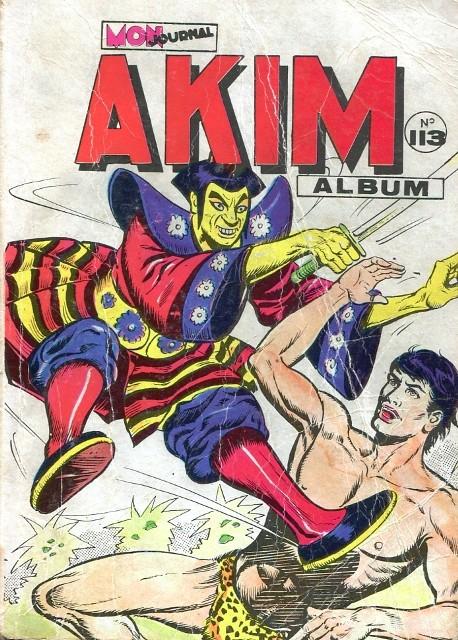 Couverture de Akim (1re série) -Rec113- Album N°113 (du n°573 au n°576)