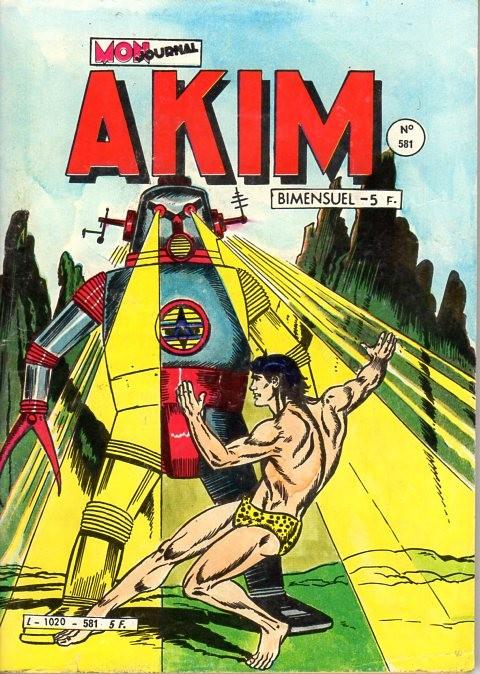 Couverture de Akim (1re série) -581- Les