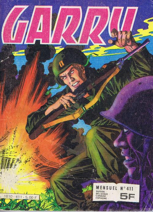 Couverture de Garry (Impéria) (2e série - 190 à 456) -411- Un risque enorme