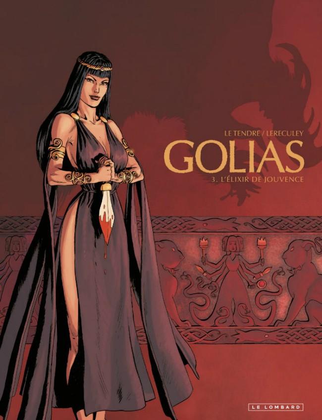 Couverture de Golias -3- L'Élixir de Jouvence