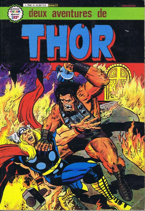 Couverture de Thor le fils d'Odin -Rec06- Album N°6 (n°20 et n°21)