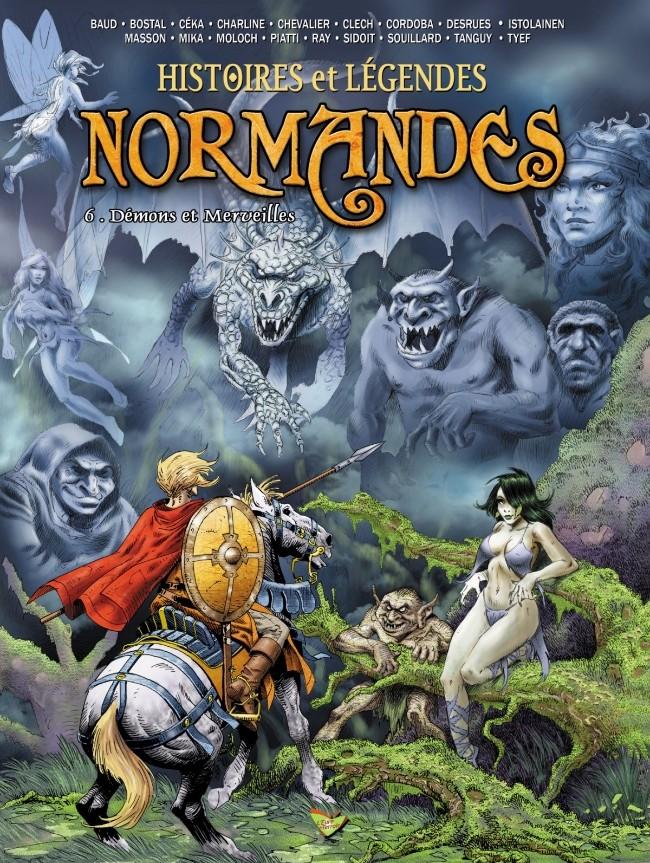 Couverture de Histoires et Légendes Normandes -6- Démons et Merveilles