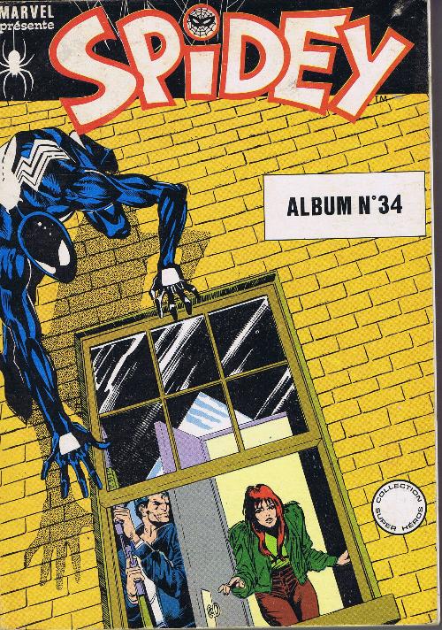 Couverture de Spidey -Rec34- Album N°34 (du n°100 au n°102)