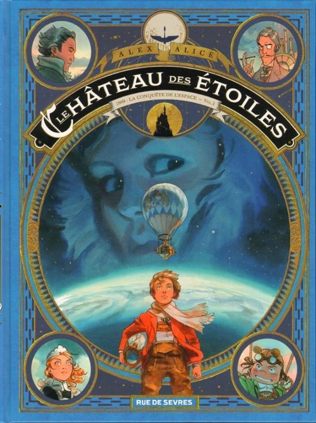 Couverture de Le château des étoiles -INT1- 1869 : La Conquête de l'espace - Vol.I
