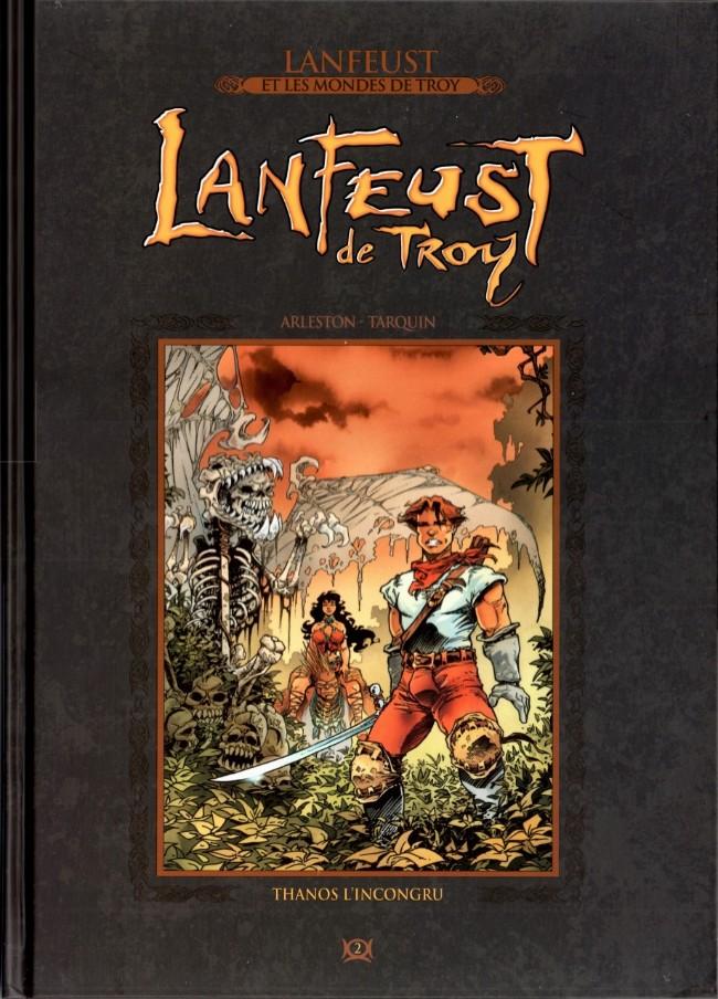 Couverture de Lanfeust et les mondes de Troy - La collection (Hachette) -2- Lanfeust de Troy - Thanos l'incongru