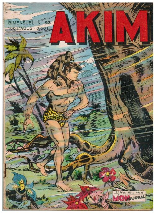Couverture de Akim (1re série) -93- Les fleurs du sommeil enchanté