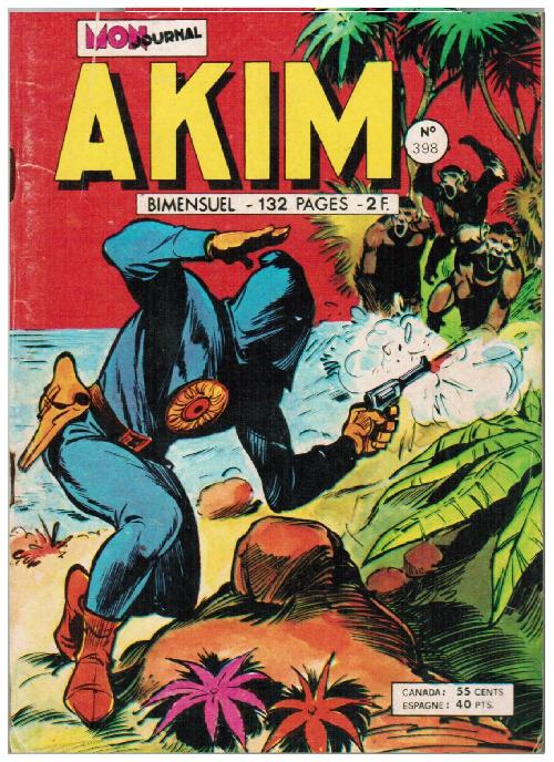 Couverture de Akim (1re série) -398- L'impossible exploit
