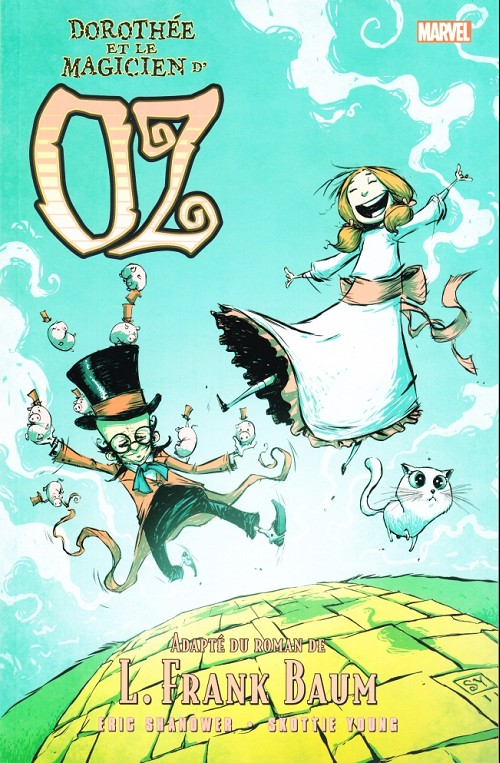 Couverture de Le magicien d'Oz (Shanower/Young) -4- Dorothée et le Magicien d'Oz
