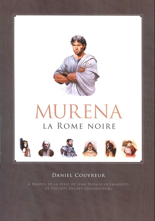 Couverture de Murena -Cat- Murena - La Rome noire