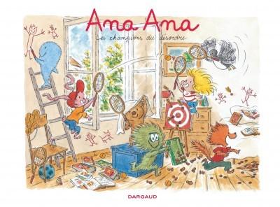 Couverture de Ana Ana -4- Les champions du désordre