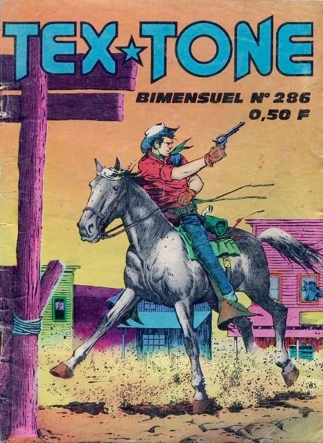 Couverture de Tex-Tone -286- Bains de boue