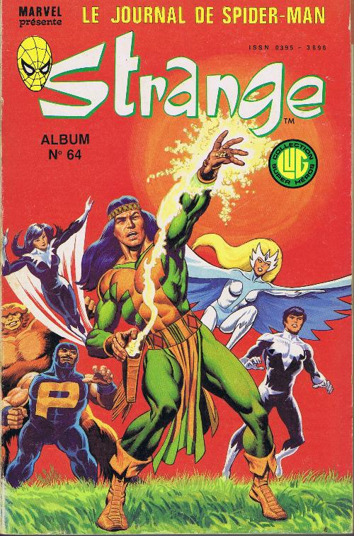 Couverture de Strange -Rec064- Album N°64 (du n°191 au n°193)