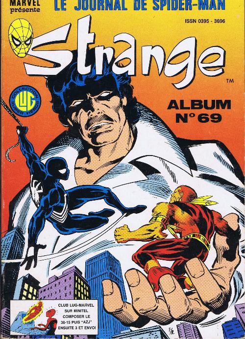 Couverture de Strange -Rec069- Album N°69 (du n°206 au n°208)