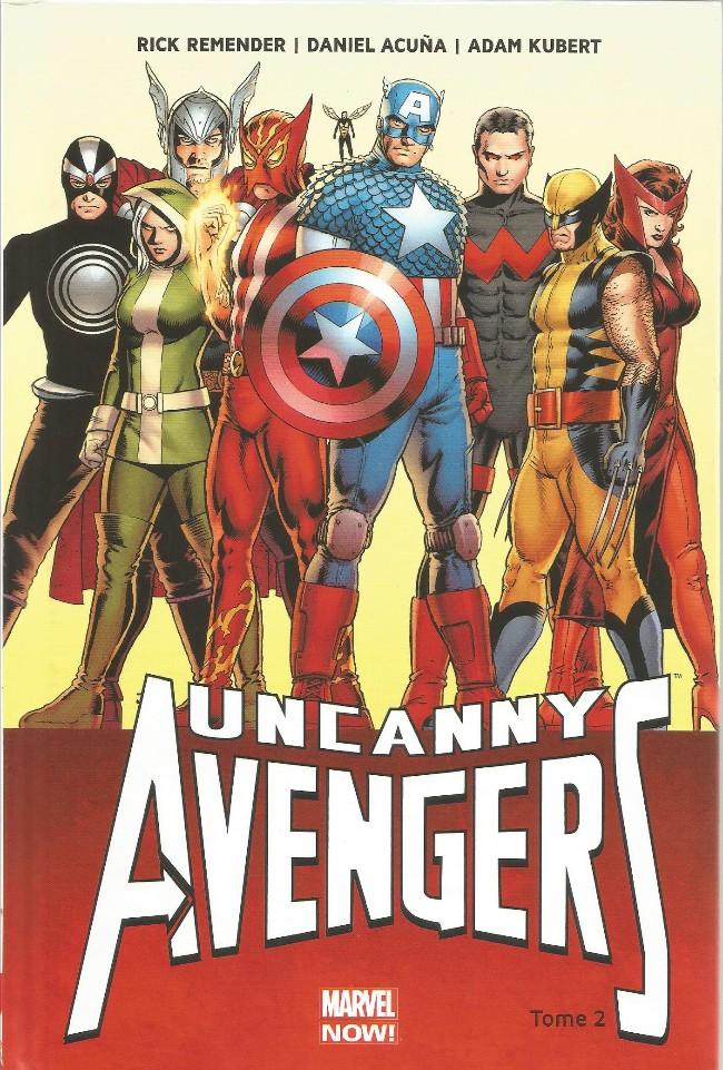 Couverture de Uncanny Avengers (Marvel Now!) -2- Ragnarok Now! (I)
