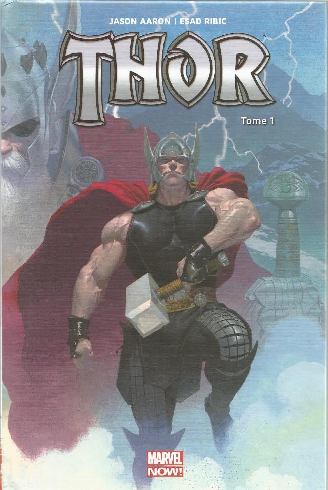 Couverture de Thor : Dieu du Tonnerre -1- Le Massacreur de Dieux (I)
