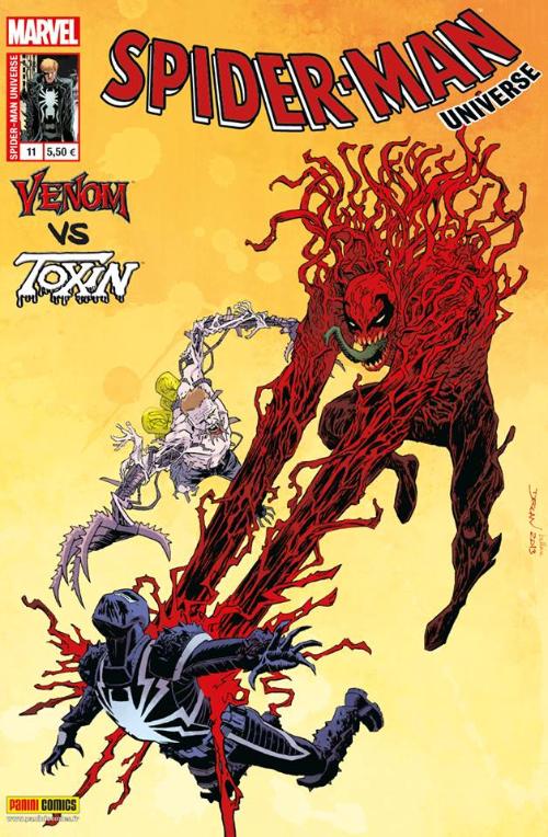 Couverture de Spider-Man Universe (Marvel France - 1re Série) -11- La nuit des tueurs de symbiotes
