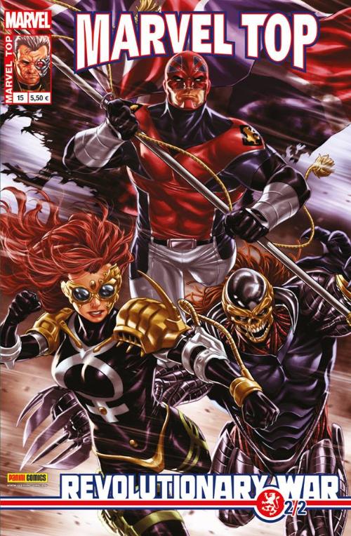 Couverture de Marvel Top (Marvel France 2e série) -15- Revolutionary war (2/2)