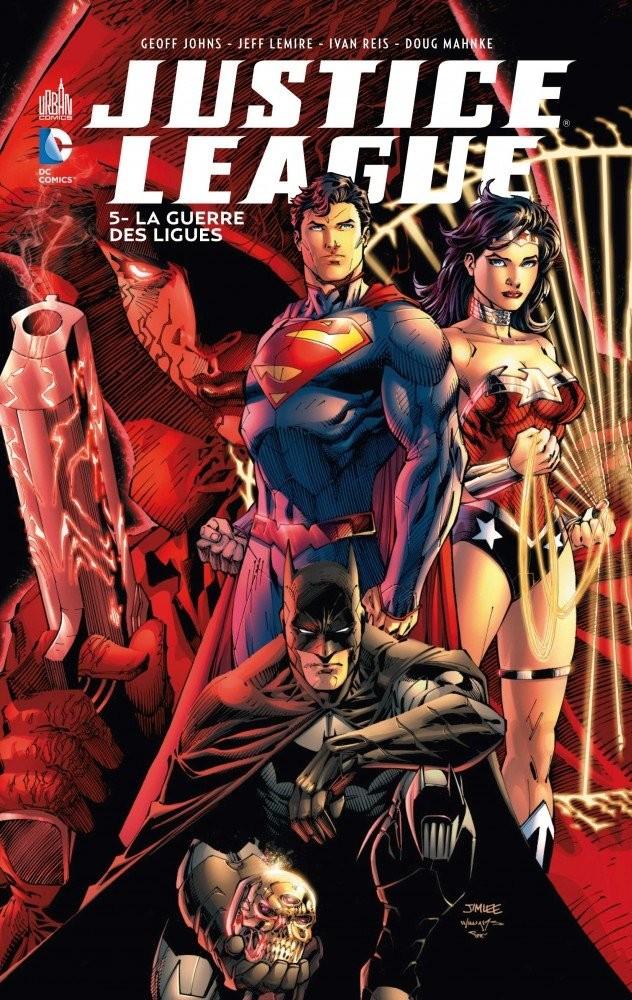 Couverture de Justice League (DC Renaissance) -5- La Guerre des Ligues