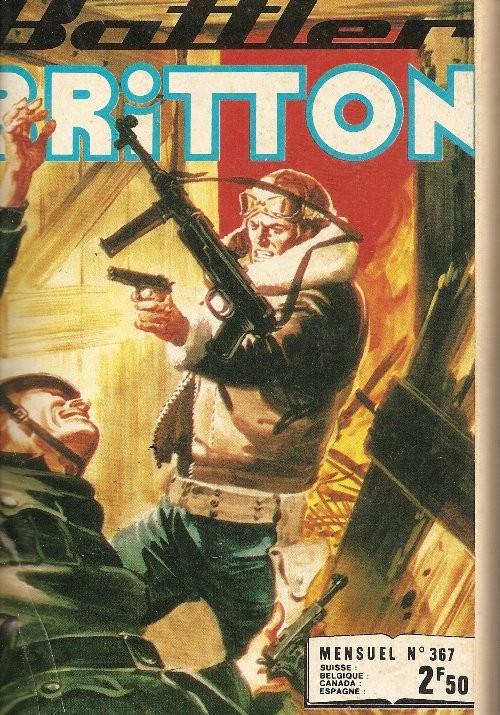 Couverture de Battler Britton -367- N°367