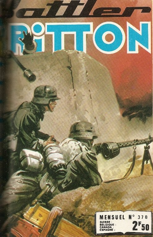 Couverture de Battler Britton -370- N°370