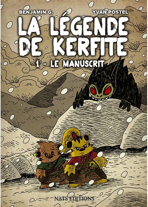 Couverture de La légende de Kerfite -1- Le manuscrit