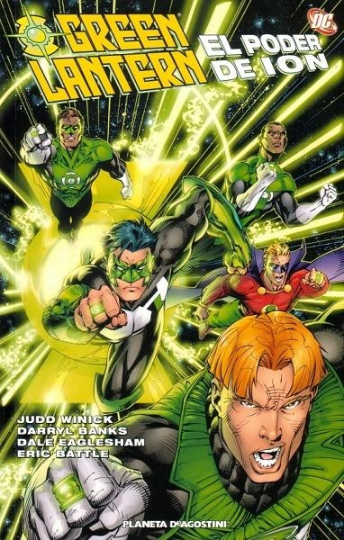 Couverture de Green Lantern (Linterna Verde): Números Únicos - Green Lantern: El Poder de Ion