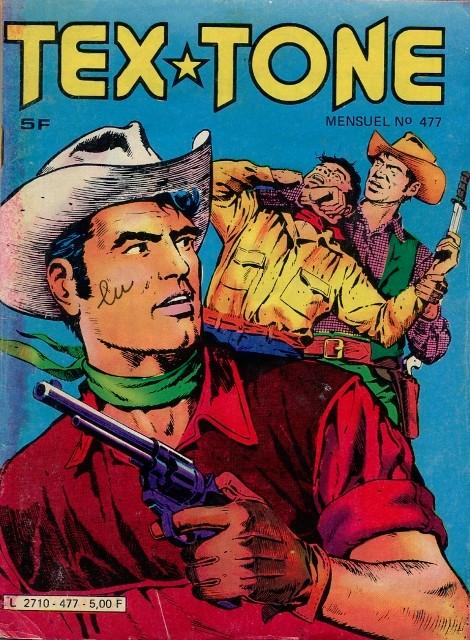 Couverture de Tex-Tone -477- Au secours de Tex