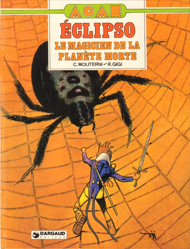 Couverture de Agar -3- Eclipso, le magicien de la planète morte