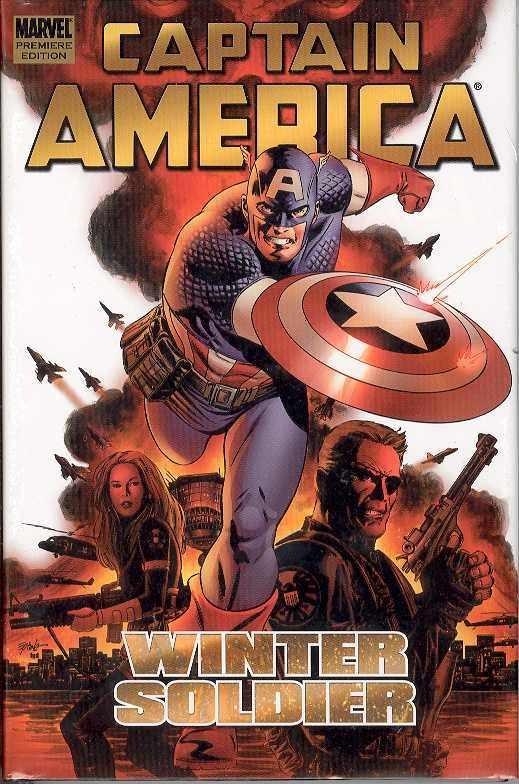 Couverture de Captain America (2005) -INT01- Winter Soldier, Volume 1
