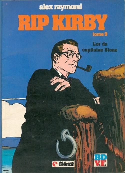 Couverture de Rip Kirby -9- L'or du capitaine Stone