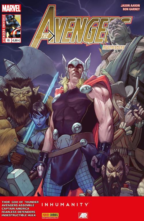 Couverture de Avengers Universe (1re série - 2013) -151- Agent du T.E.M.P.S.