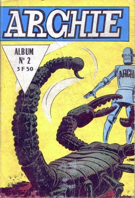 Couverture de Archie (Jeunesse et Vacances) -Rec02- Album n°2 (du n°4 au n°6)