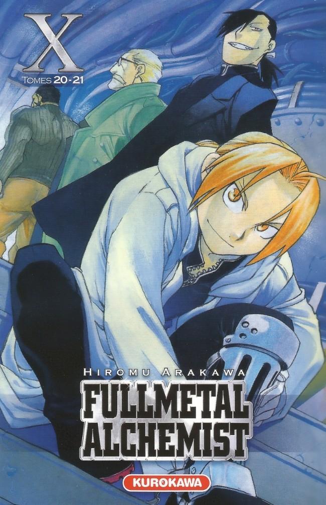 Couverture de FullMetal Alchemist -INT10- Volume X - Tomes 20-21
