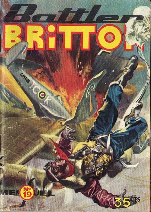 Couverture de Battler Britton -19- Suspense - La plage du péril - Maître d'armes