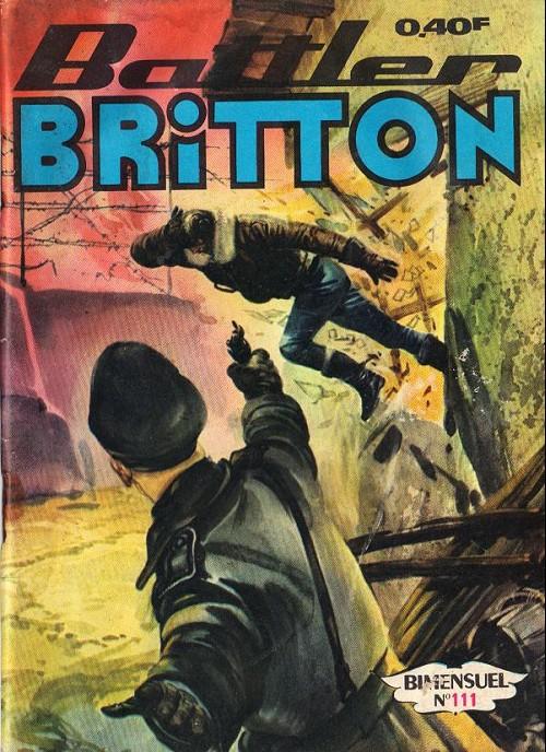 Couverture de Battler Britton (Imperia) -111- Opération piège - combat inégal