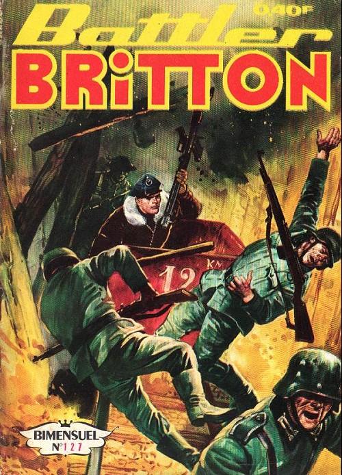 Couverture de Battler Britton (Imperia) -127- Terrible découverte - promotion