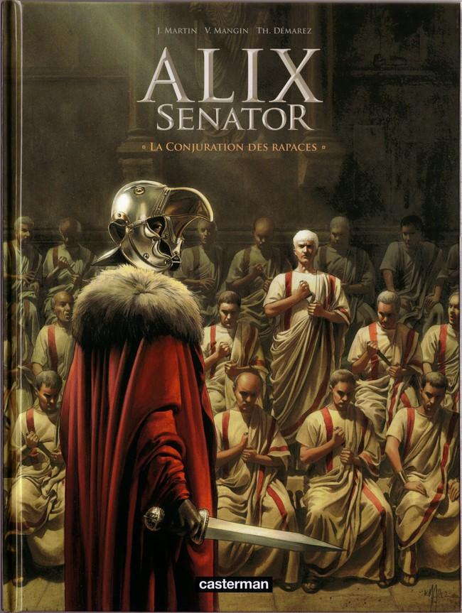 Couverture de Alix Senator -3- La Conjuration des rapaces
