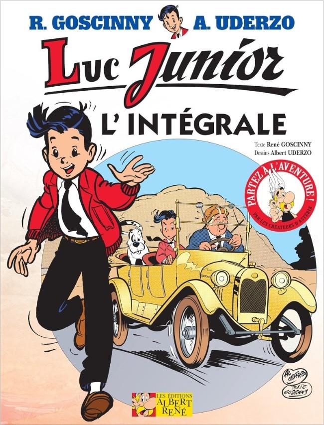 Couverture de Luc Junior -INT- L'Intégrale