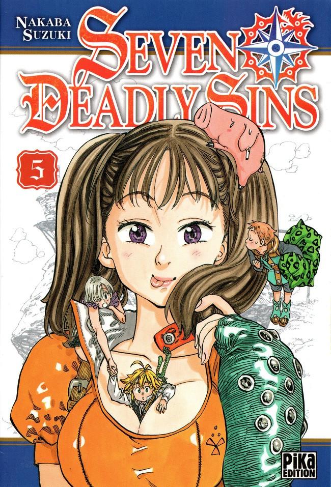 Couverture de Seven Deadly Sins -5- Tome 5