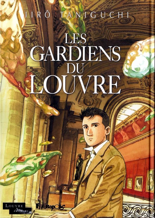 Couverture de Les gardiens du Louvre - Les Gardiens du Louvre