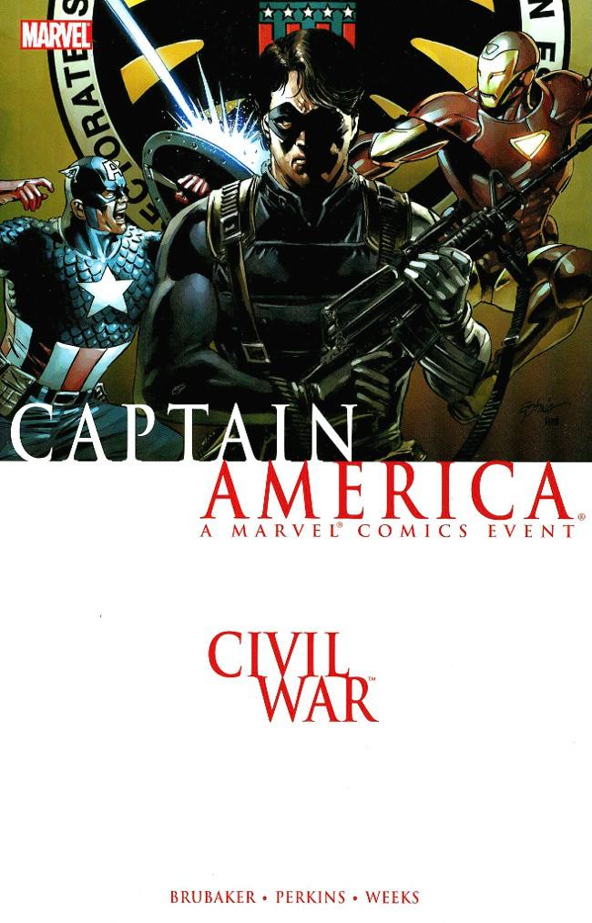 Couverture de Captain America (2005) -INT05- Civil War