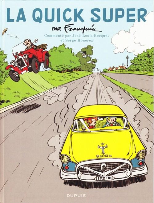 Couverture de Spirou et Fantasio -HCourte5- La Quick Super